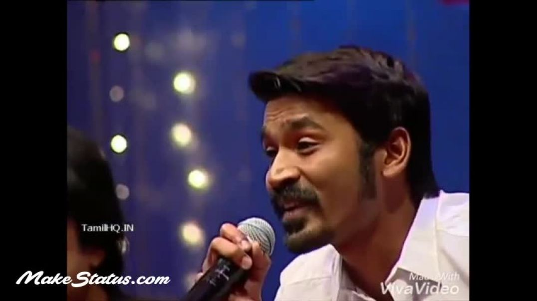 Dhanush Sings with little girl
