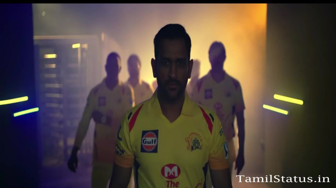Latest CSK Theme Song in Mersal Version - Whatsapp Status in Tamil