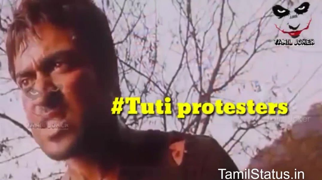 Ban Sterlite Tamil Whatsapp Video Status
