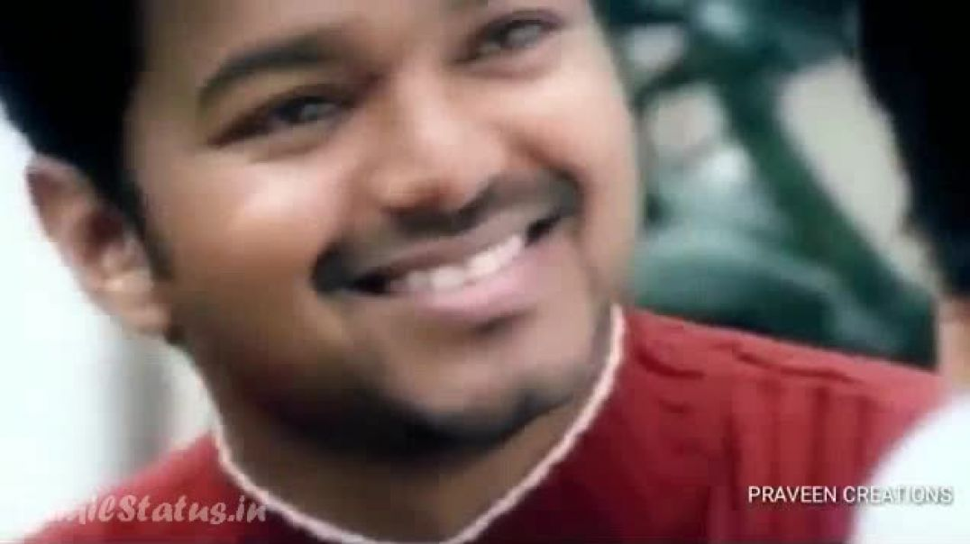 Vijay Happy Birthday Wishes Video Status Nee Pottu Vacha Song Vijay Version