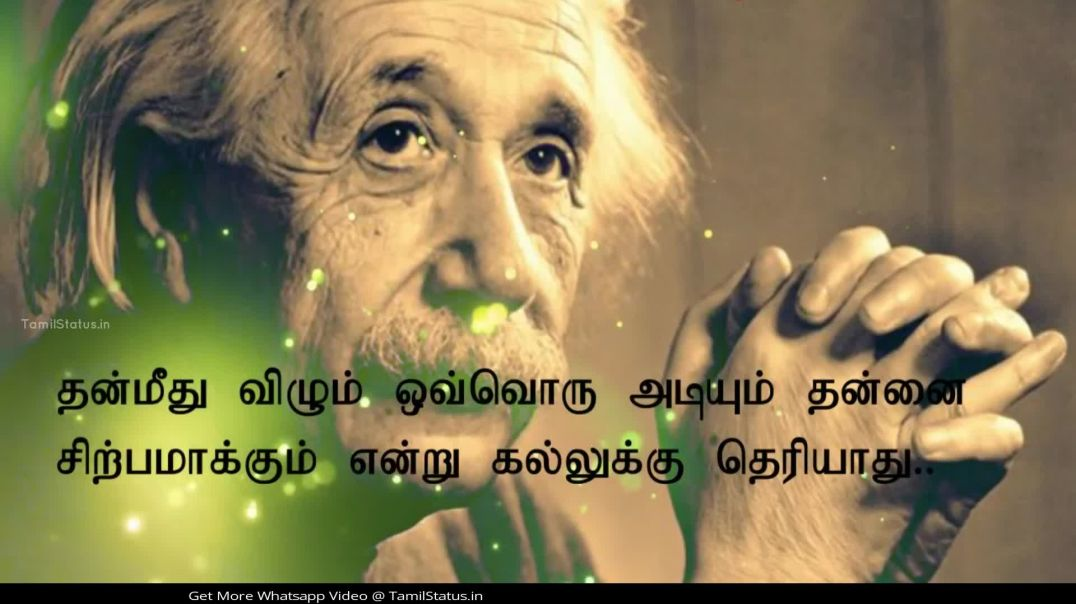 Inspirational Tamil Quotes Whatsapp Status Video Download