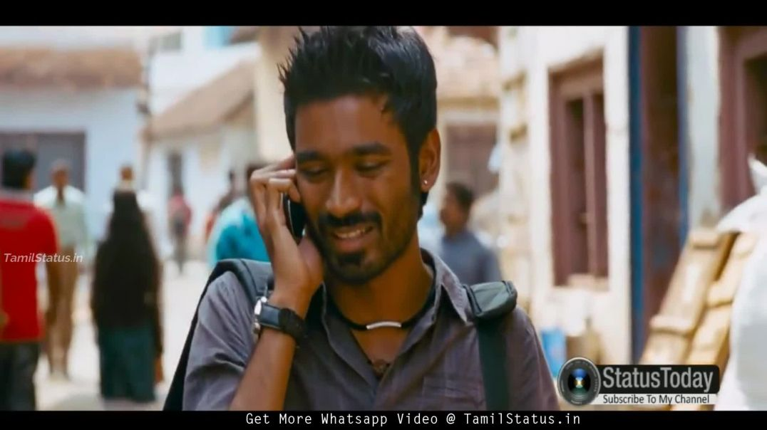 Tamil Dhanush Whatsapp Tamil Status Video  Dialogue About Life