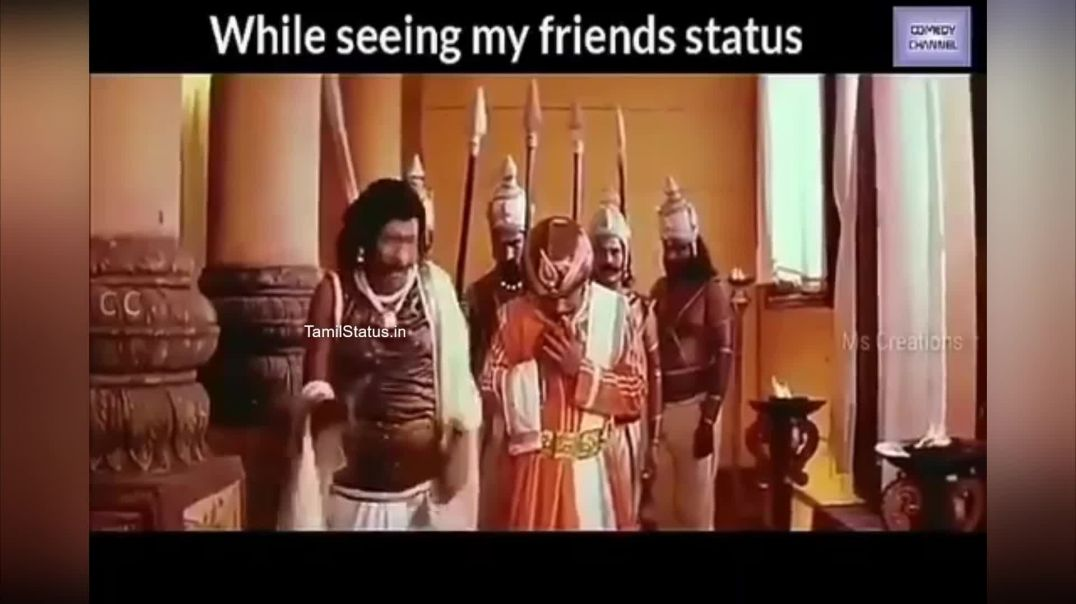 Friends Mass Whatsapp Tamil Status Video Vadivelu Special Comedy Status