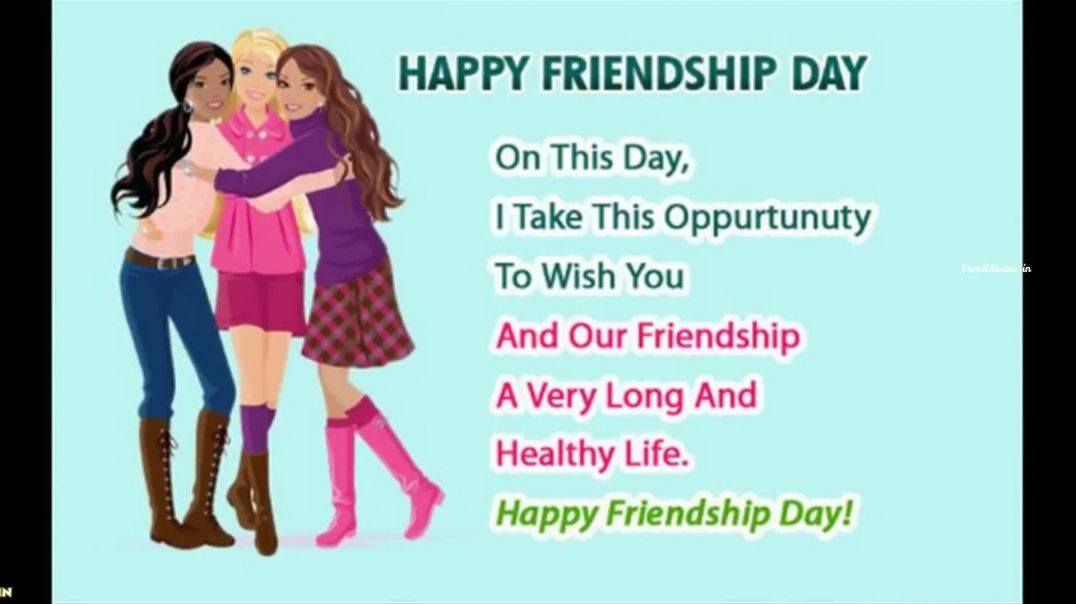 Friendship Day Status Videos for Whatsapp | Tamil Status Happy Friendship Day Wishes