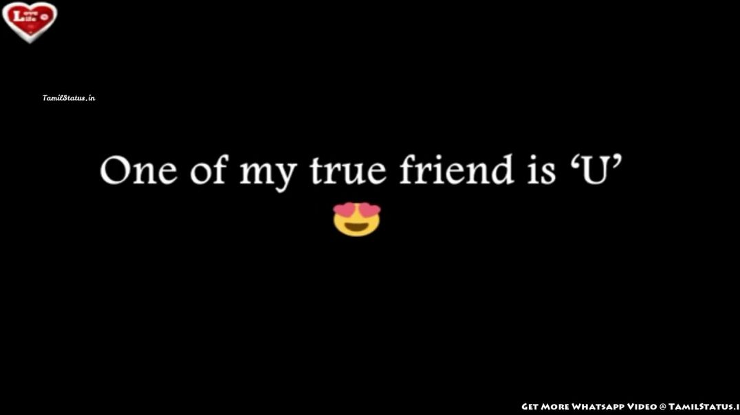 Friendship Video Whatsapp Status Video | Tamil Status Happy Friendship Day Wishes