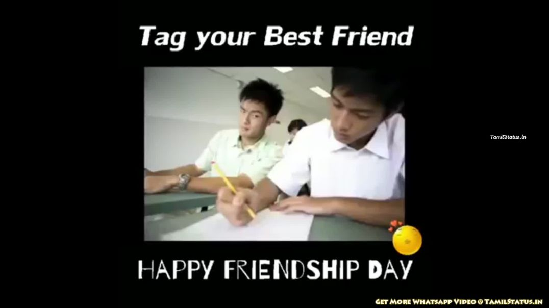 Happy Friendship Day Whatsapp Status Video Download in Tamil