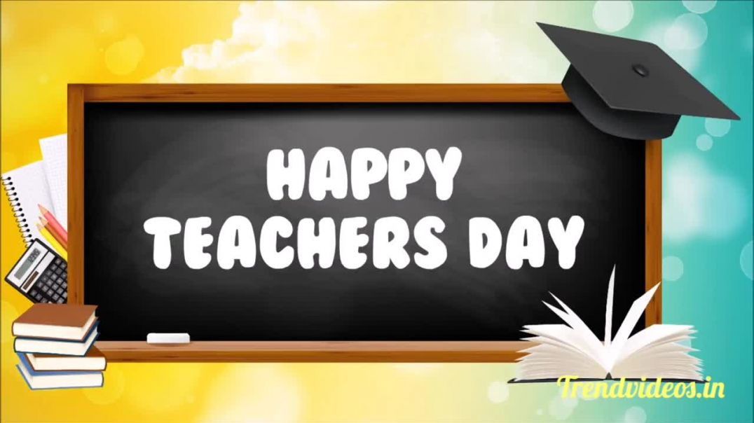 Happy Teachers Day whatsapp status videos