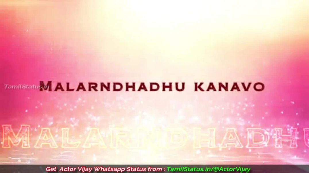 Mannava Nee Vaa Vaa Simtaangaran Lyrics from Sarkar - Whatsapp Status in Tamil