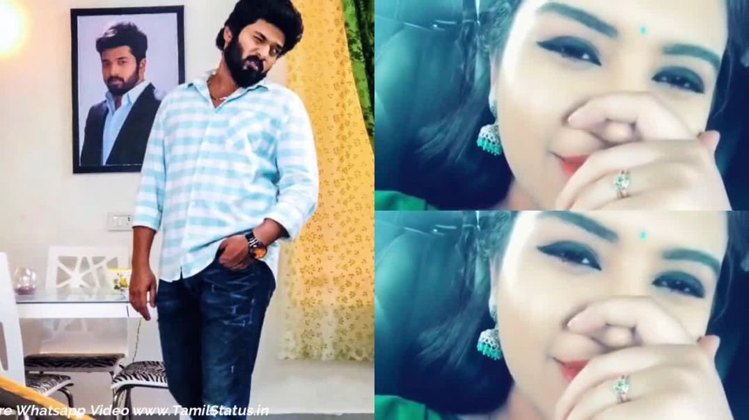 ZeeTamil Sembaruthi Adhithya Parvathi Love Whatsapp Status Song | Tamil Whatsapp Status Video Downlo