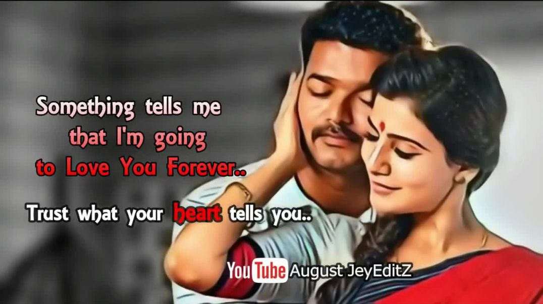 Love Dialogue | Vijay Samantha Love Scene Whatsapp Status Download