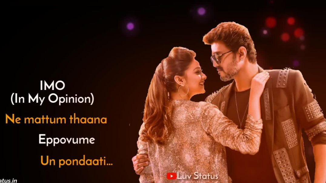 Sarkar Song Download Omg Ponnu Whatsapp Status Video Download | Tamil Status Video Download Free MP4