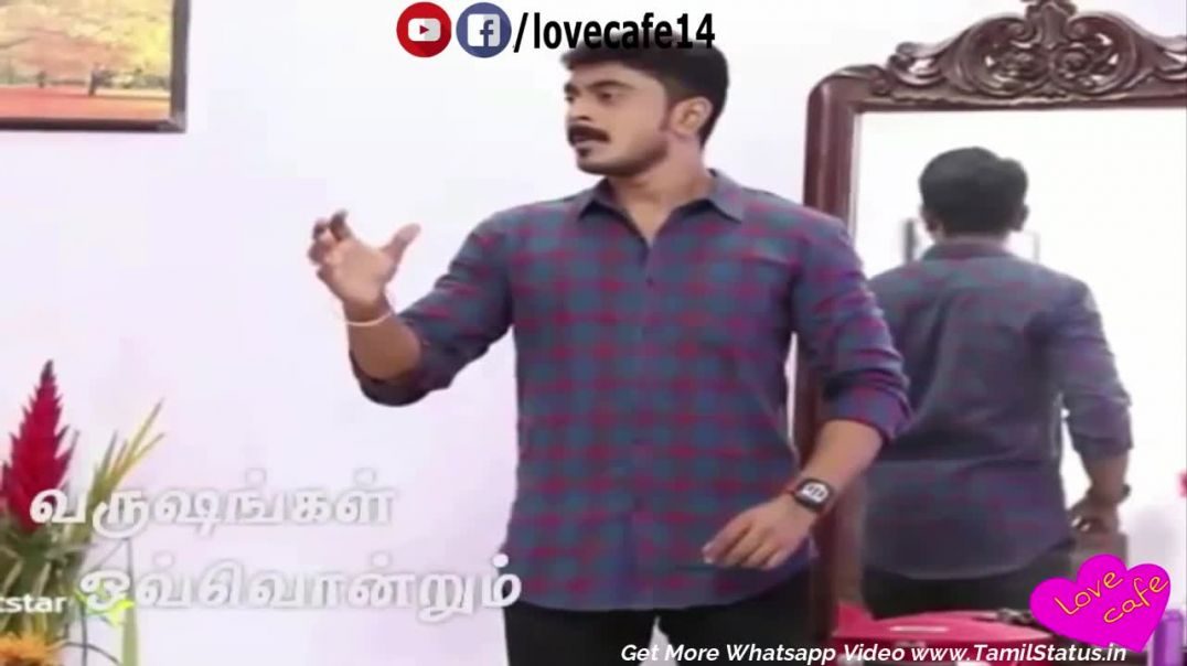 Pagal Nilavu serial song | Arjun sneha love Whatsapp Status | Tamil Status Video Download