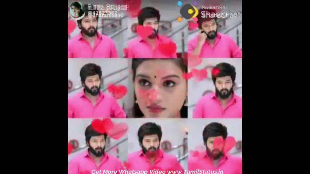 Zee tamil Tv Serial Adhi Parvathi Love Whatsapp Status HD Download | Tamil Status Video Download Fre