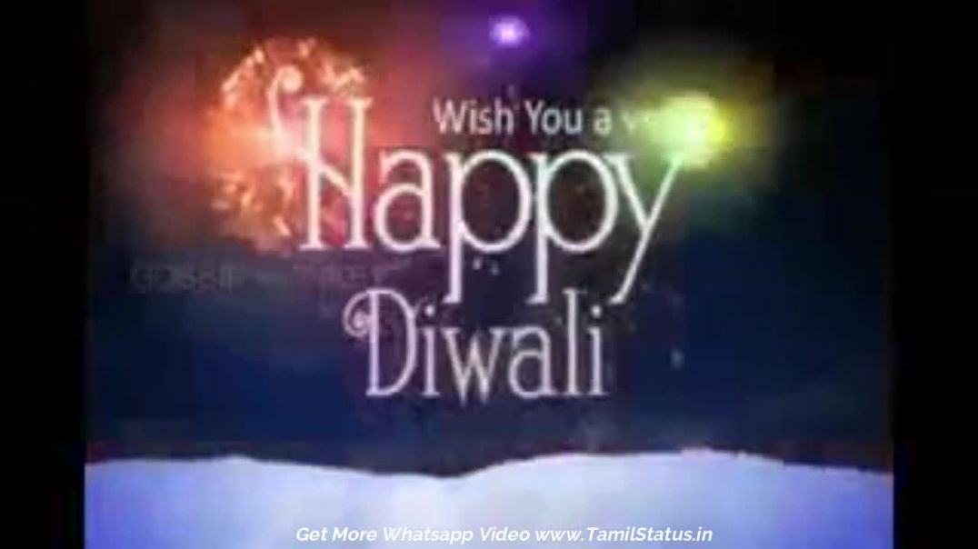 Tamil Whatsapp Status Videos | Happy Deepavali Wishes | Tamil Status