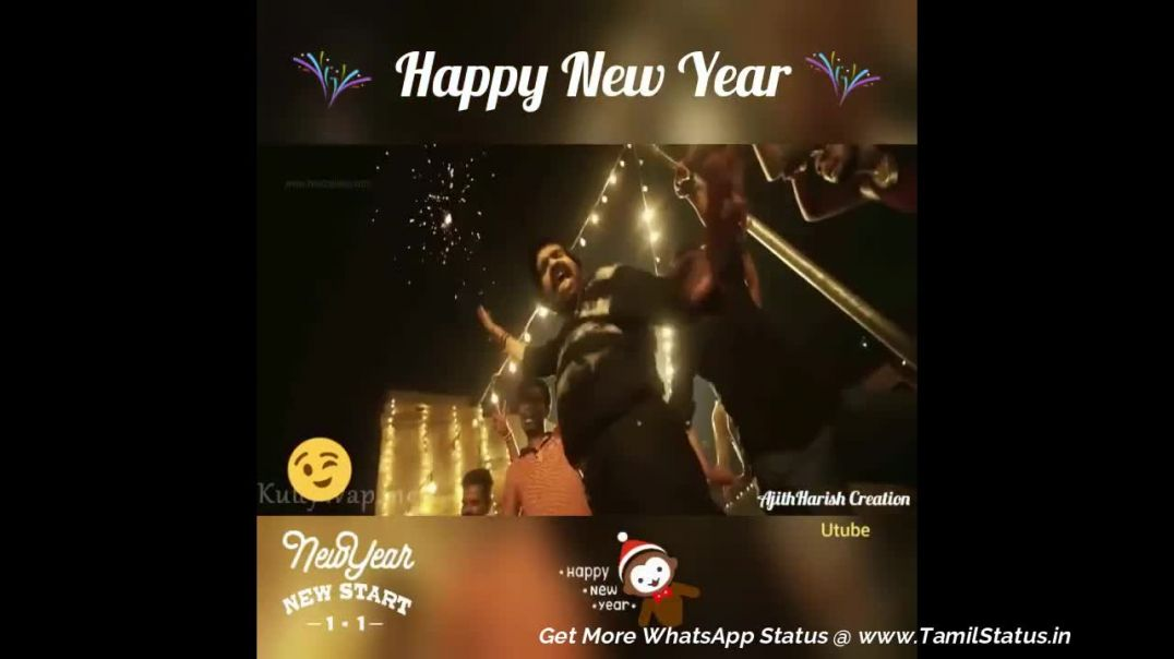 Happy new year 2019 video status download | Tamil Status