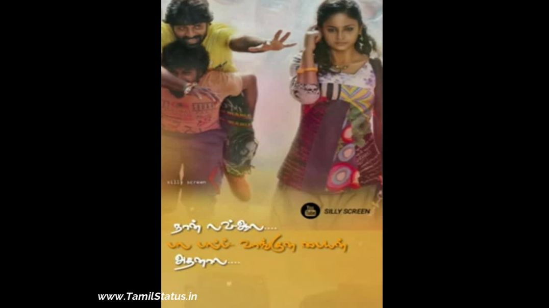 Tamil Status Videos Download | Vijay Sethupathi Love Song Free download