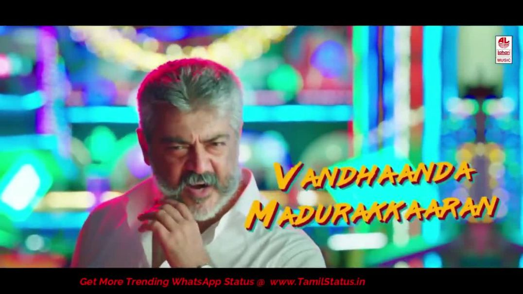 Viswasam Song Whatsapp Status Free Download | AdichuThuku Tamil Status