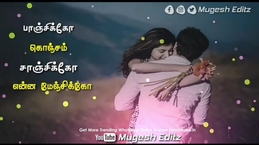 Girl love feel whatsapp status video (download in tamil) || Tamil status