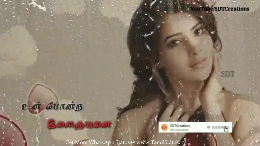 Girl love feel whatsapp status in tamil (download in HD) mp4 | tamil statusGirl love feel whatsapp s