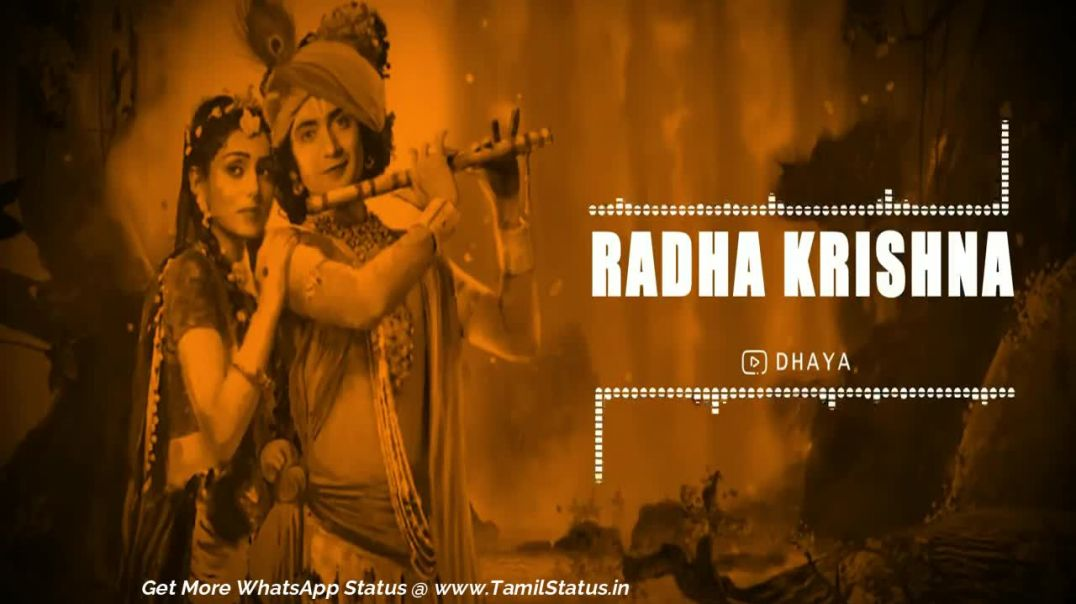 Radha krishna song whatsapp video status download | Tamil status