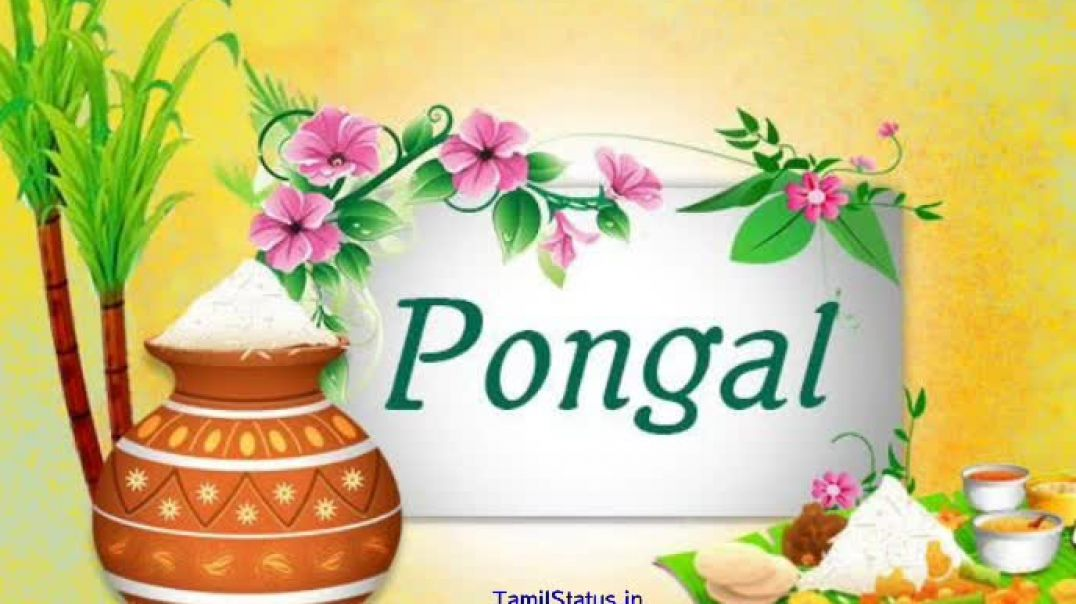 [Happy] Pongal Status for Whatsapp from Mahanadhi Song | TamilStatus