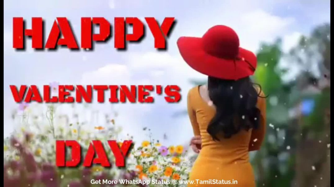 Valentine's Day special whatsapp status for girls || Tamil status