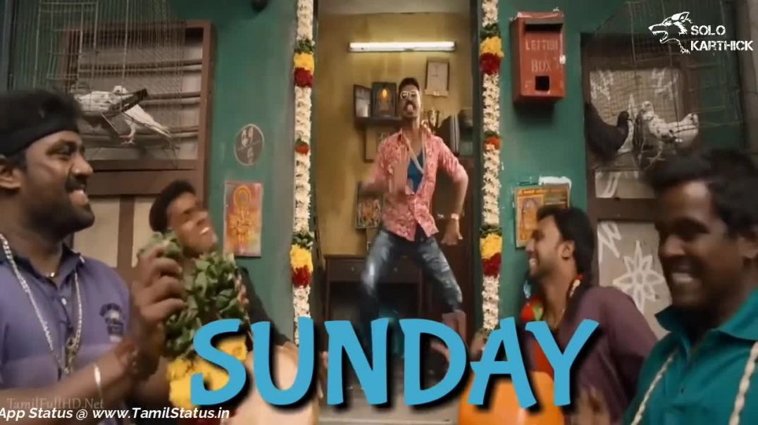 Tamil status | Happy sunday whatsapp status in tamil HD