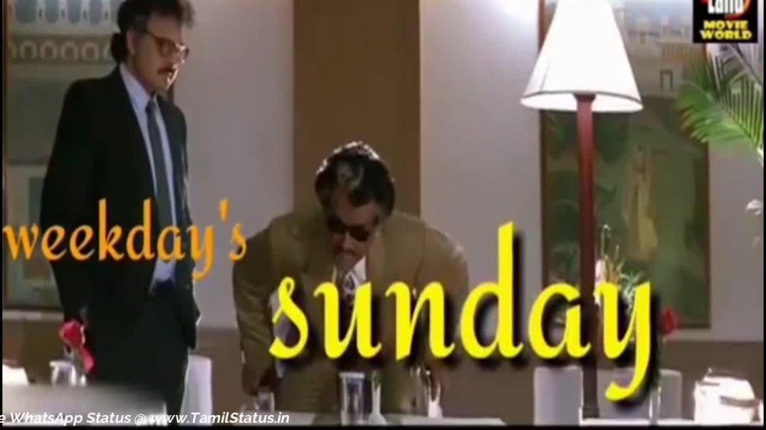 Tamil status || Happy sunday whatsapp status video download in tamil