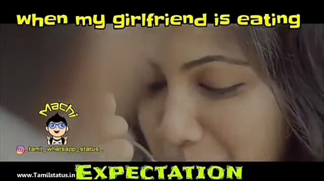 Funny girl friend tamil whatsapp status || Tamil status