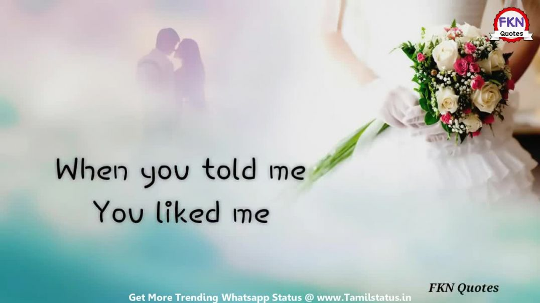 Love accepting whatsapp status in tamil download || Tamil status