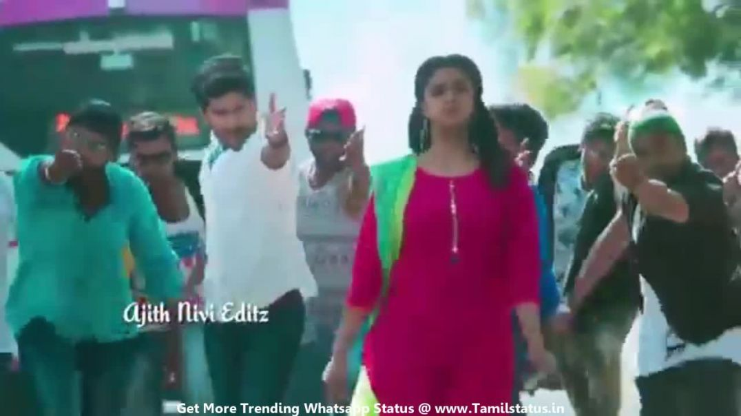 Cute song for girlfriend in tamil whatsapp status || Tamil status