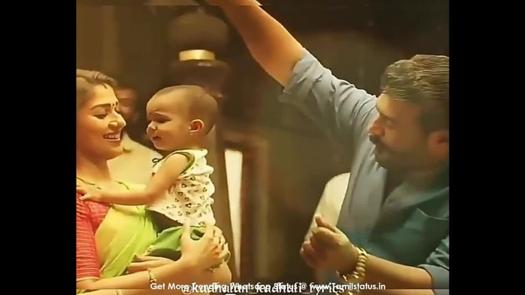 Kannana kanne viswasam song whatsapp download || Tamil status