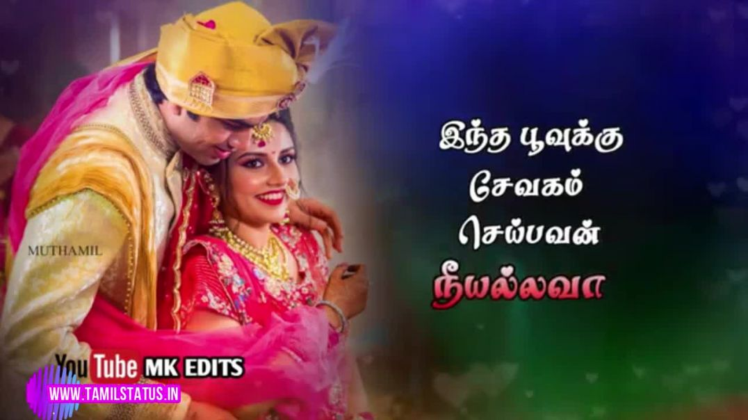 Couples love song tamil whatsapp status download || Tamil status