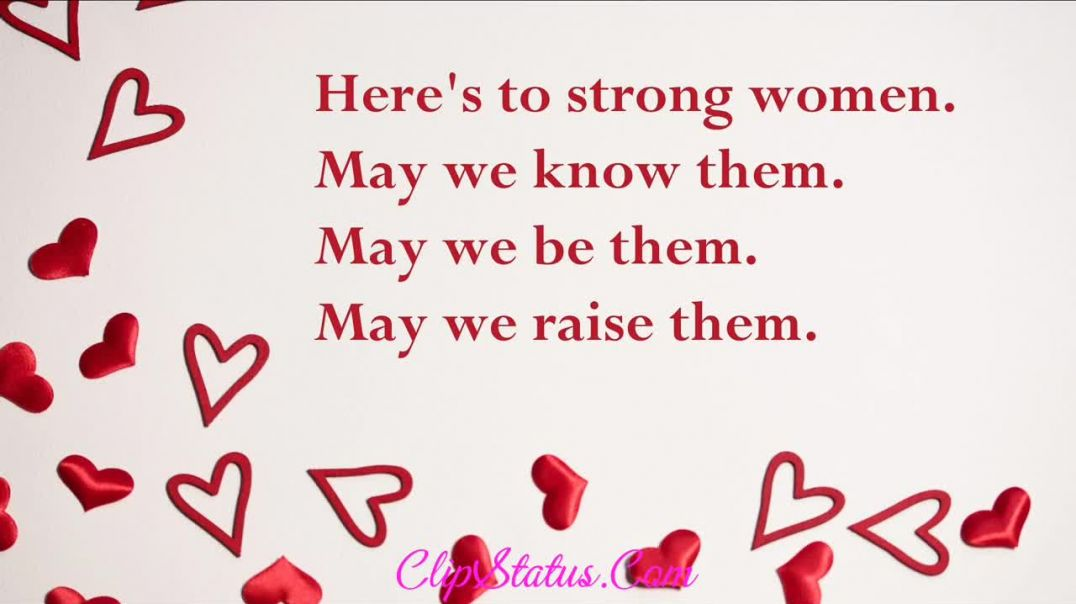 Happy Womens Day Status for whatsapp status
