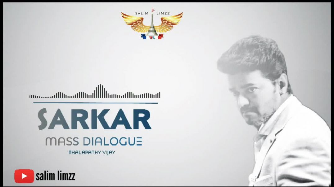 Sarkar Mass Dialogue of Thalapathy Vijay WhatsApp Status in Tamil