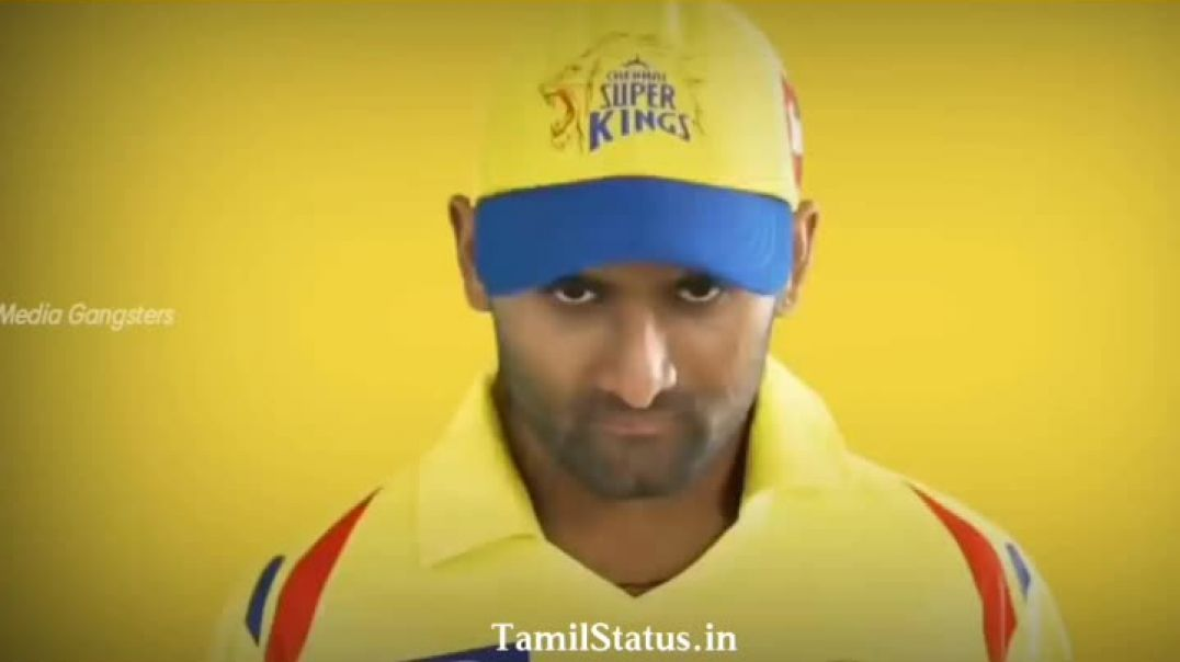 CSK Patta Version Whatsapp Status Trending on Tamil Status