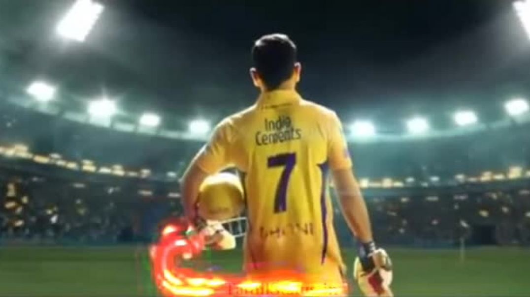 Dhoni Whatsapp Status Videos in CSK Tamil Version