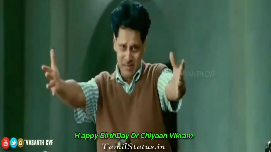 HAPPY BIRTHDAY VIKRAM - Whatsapp Status Videos | TamilStatus