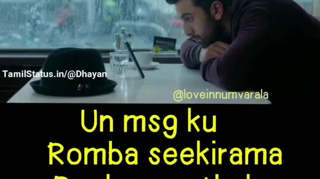 BEST SORRY WHATSAPP STATUS || Sorry for Everything Love Status for Whatsapp || TamilStatus