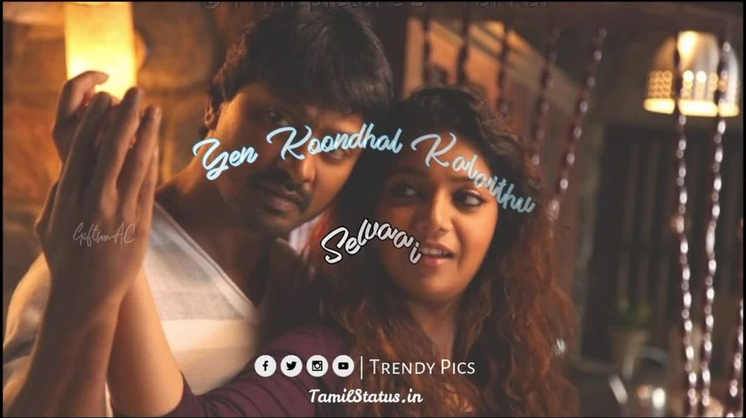Kadhal songs whatsapp status download || Tamil status free download