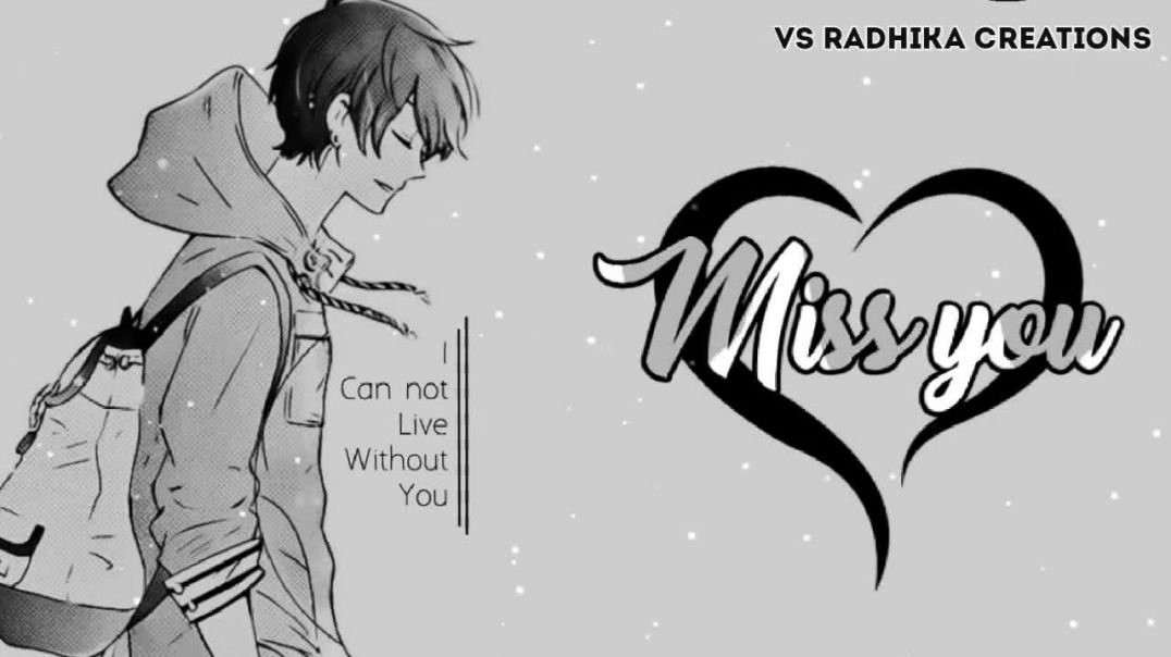 Miss You BGM Whatsapp Status Download || Tamil Boys Sad Status Covers Videos || TamilStatus