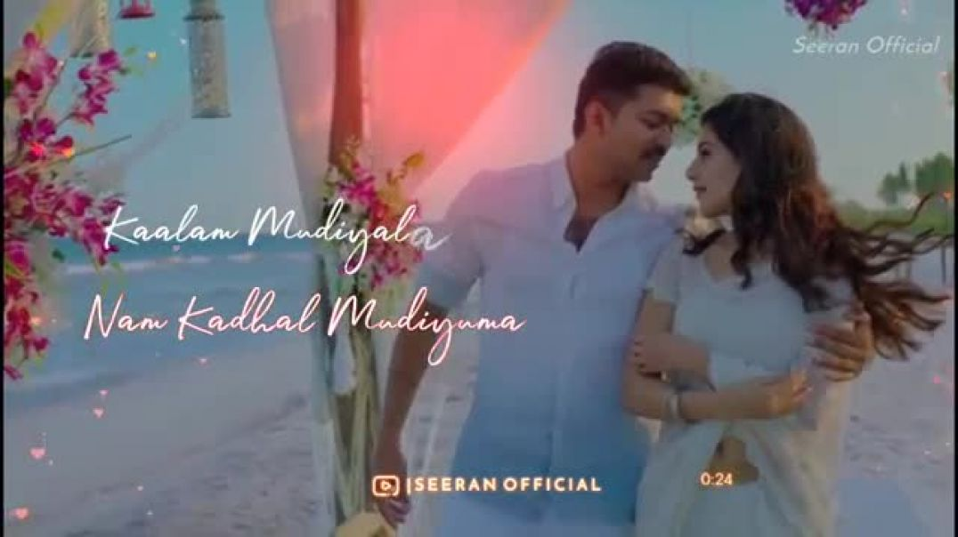 Tamil Love Song Lyrics Status || love status for husband and wife Whatsapp Status Videos || TamilSta