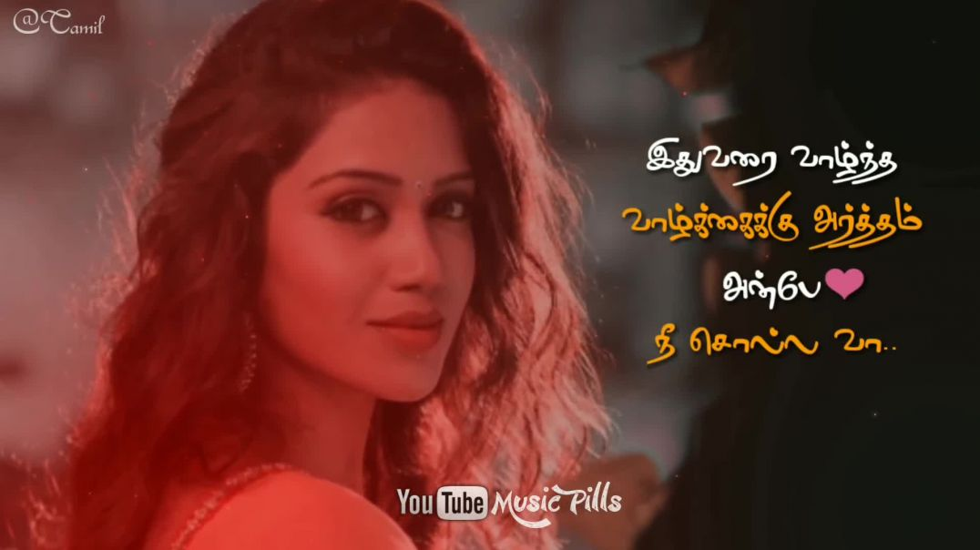 Female Version Whatsapp Status from Sotta Sotta Nanayuthu Taj Mahal Song lyrics | Tamil Status Downl