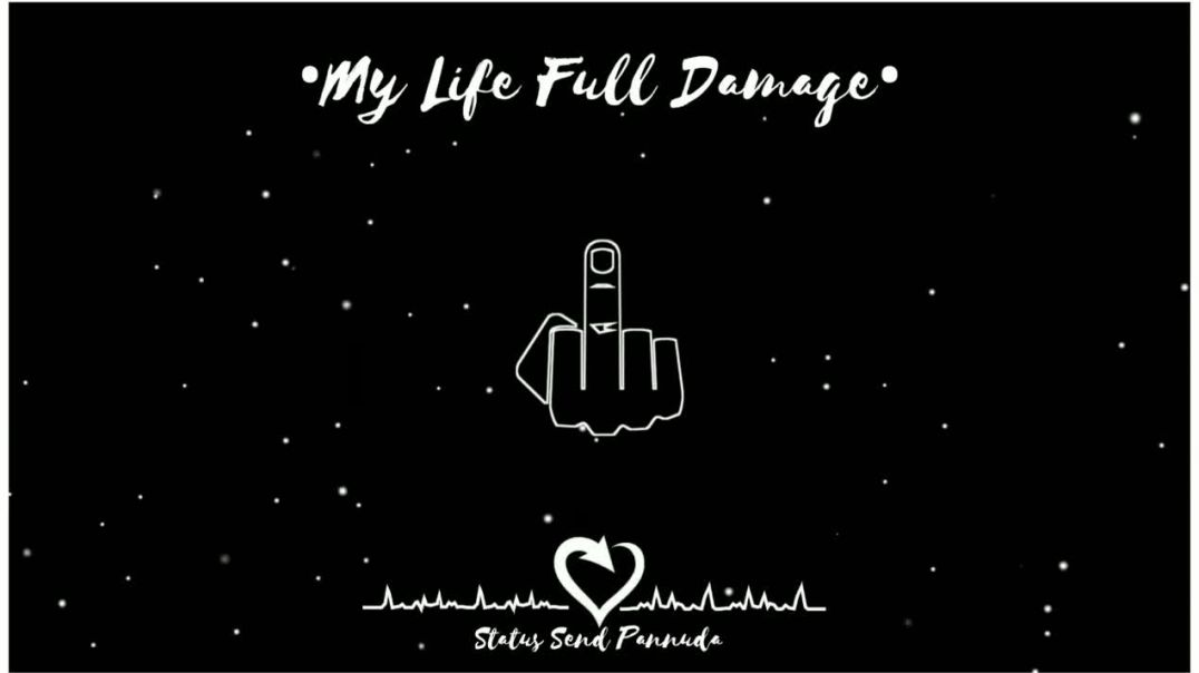 My Life Full Damage Morattu Single Whatsapp Status Tamil Download