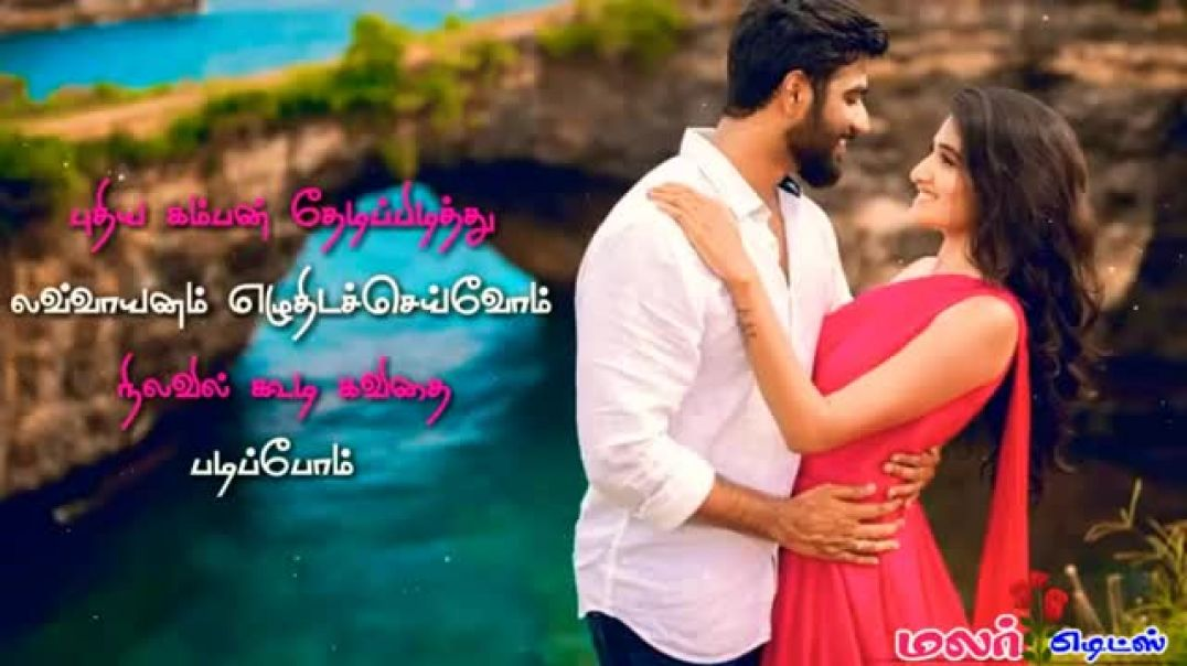 Tamil Love Album Whatsapp Status Video | Sollayo Solaikili Song Lyrics Status