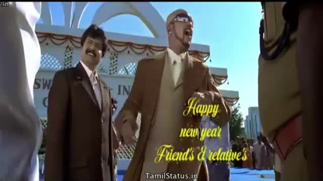 Happy New Year 2020 in Tamil Whatsapp Videos from Shivaji Rajinikanth