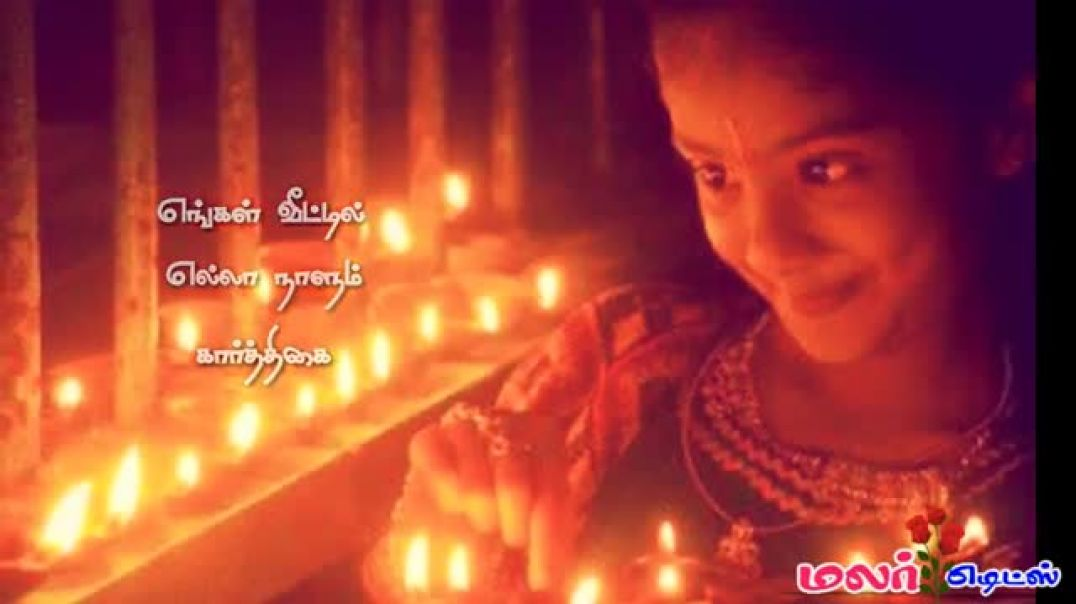 Happy Karthigai Deepam Whatsapp Status in Tamil Download for Profile HD Video