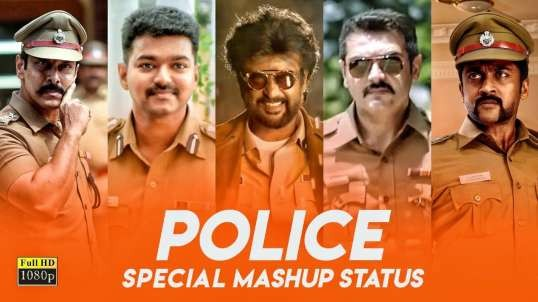 Mass Police Whatsapp Status Download from Tamil Film Sequence as Mashup