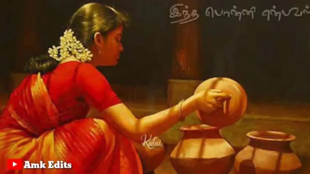 Pongal Whatsapp Status Tamil from Maha Nadhi Song Wishes with Lyrics