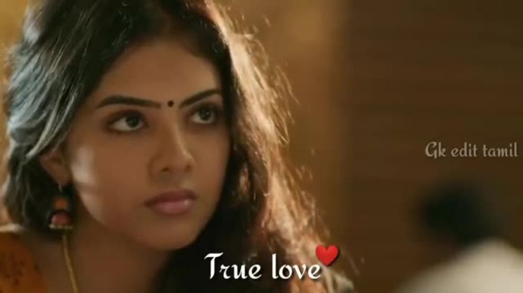 Cute Couple Love Status Video For Whatsapp Tamil in Full HD